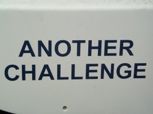 Another Challenge - Yacht name - CFS Relapse