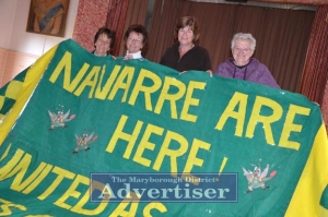 Ladies with banner in navarre