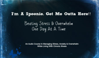 I'm A Spoonie. Get Me Out Of Here! Audio Coaching Course